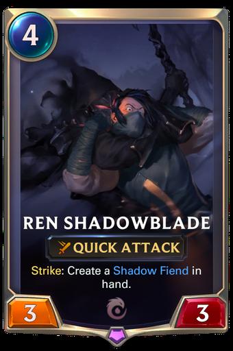 Ren Shadowblade Card Image