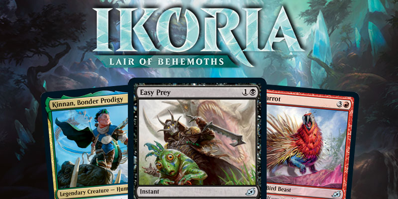MTG Arena - Ikoria: Lair of Behemoths Card Spoilers April 9