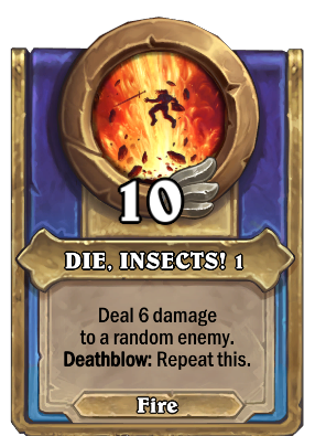 DIE, INSECTS! 1 Card Image