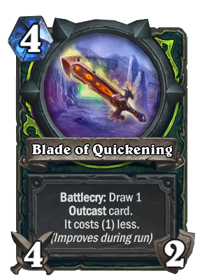 Blade of Quickening Card Image