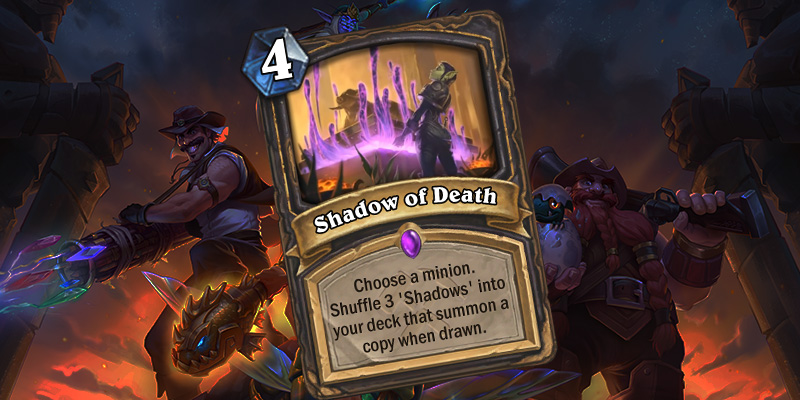 Uldum  Rogue Card Reveal - Shadow of Death