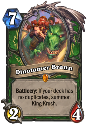 Dinotamer Brann Card Image