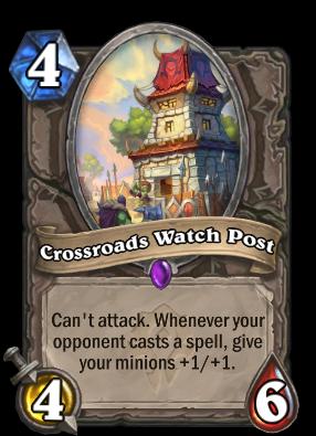 Crossroads Watch Post Card Image