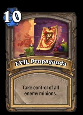 EVIL Propaganda Card Image