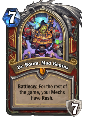 Dr. Boom, Mad Genius Card Image