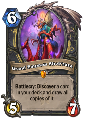 Grand Empress Shek'zara Card Image