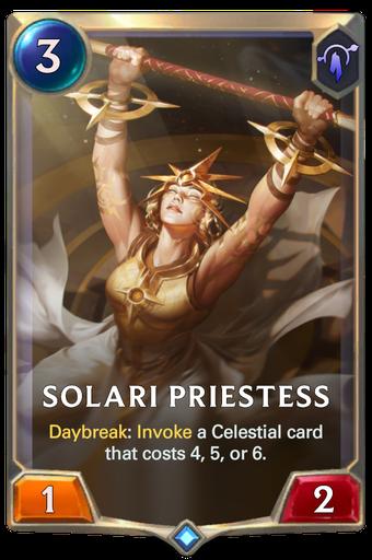 Solari Priestess Card Image
