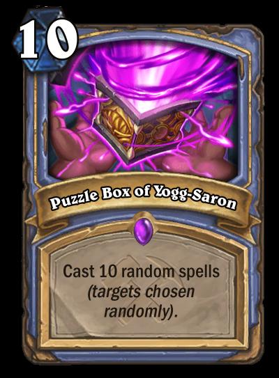 Puzzle Box of Yogg-Saron Card Image