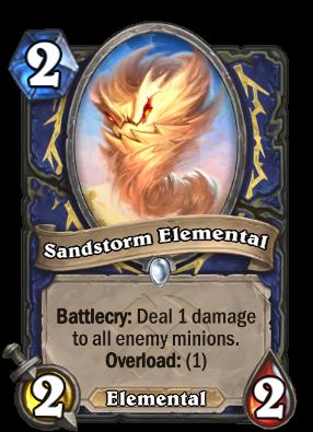 Sandstorm Elemental Card Image