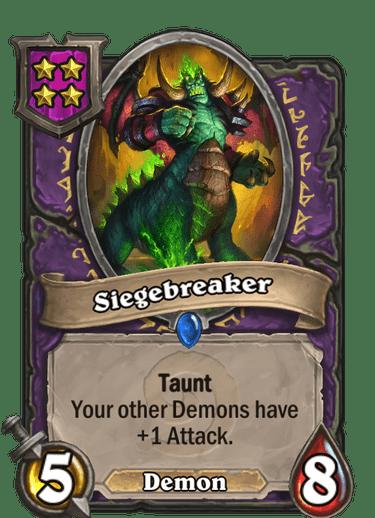 Siegebreaker Card Image
