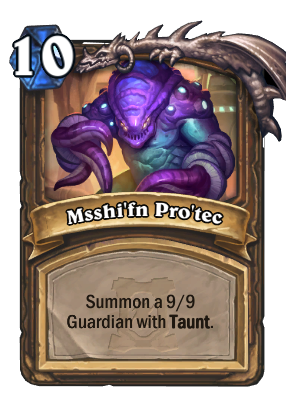 Msshi'fn Pro'tec Card Image