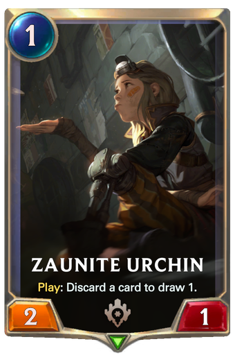 Zaunite Urchin Card Image