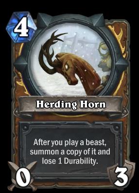 Herding Horn Card Image