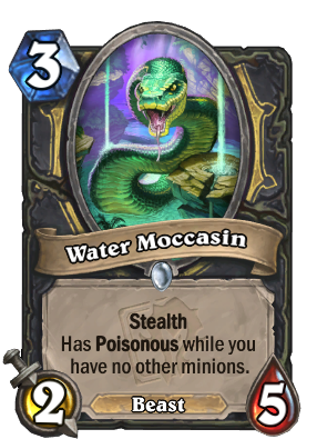 Water Moccasin Card Image