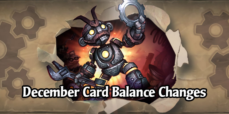 Demon Hunter Card Nerfs Coming! Hearthstone December Card Balance Update Arrives Tomorrow on December 15