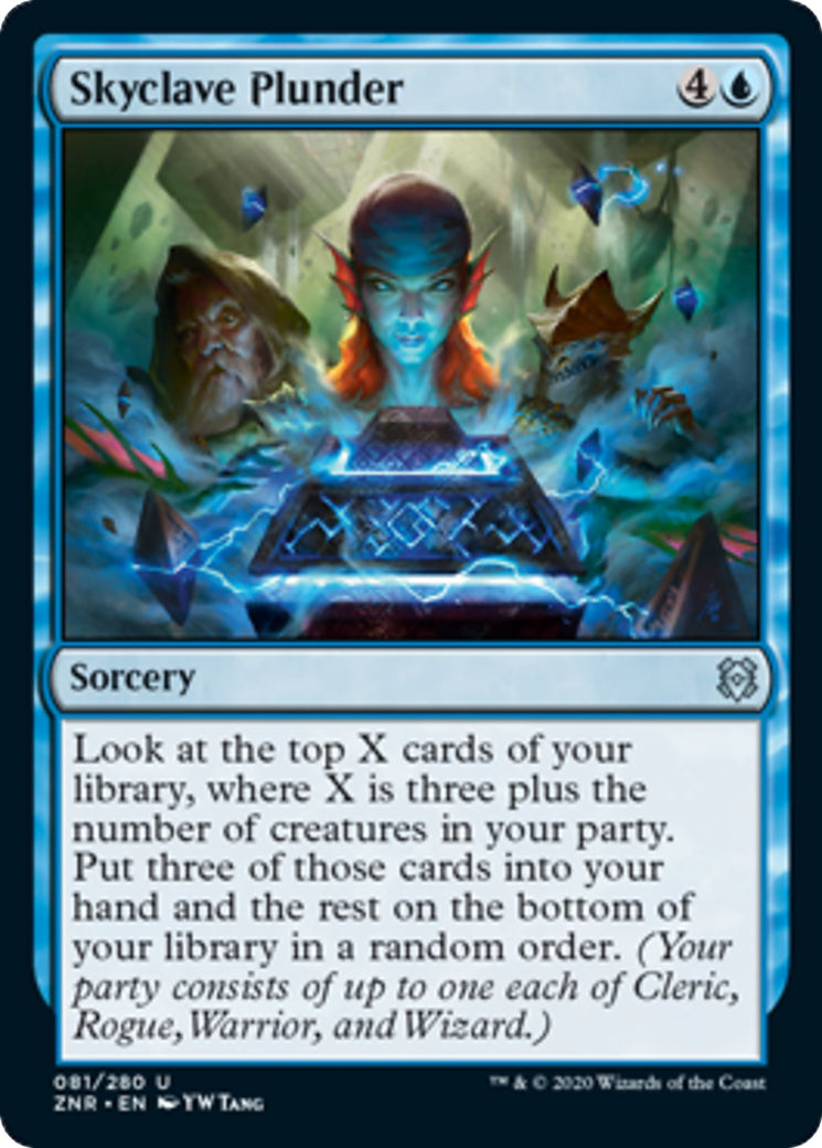 Skyclave Plunder Card Image