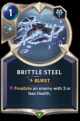 Brittle Steel Card Image