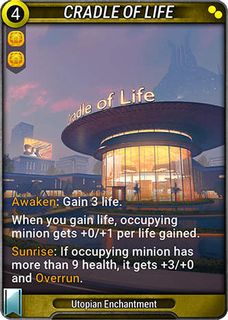 Cradle of Life Card Image
