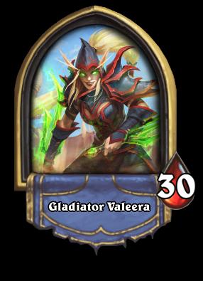 Gladiator Valeera Card Image