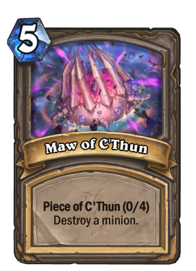 Maw of C'Thun Card Image