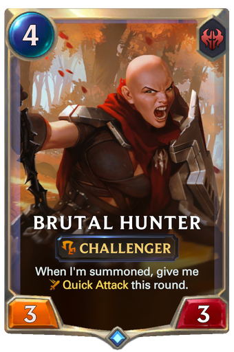 Brutal Hunter Card Image
