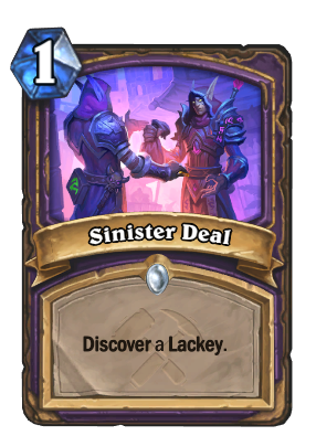 Sinister Deal Card Image