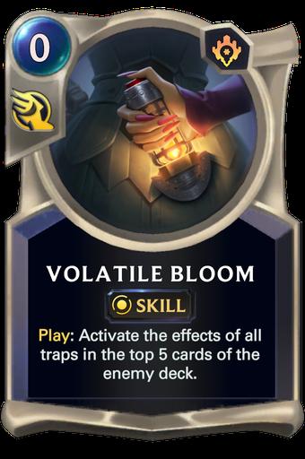 Volatile Bloom Card Image
