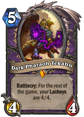 Dark Pharaoh Tekahn Card Image