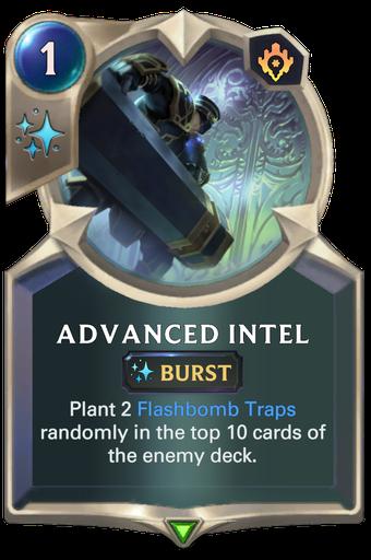 Advanced Intel Card Image