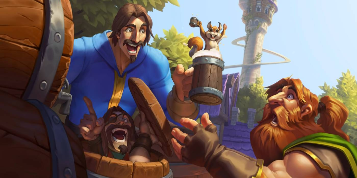 """New Hearthstone Arena Rotation with United in Stormwind - Don't Forget Your """"Free"""" Tavern Ticket!"""