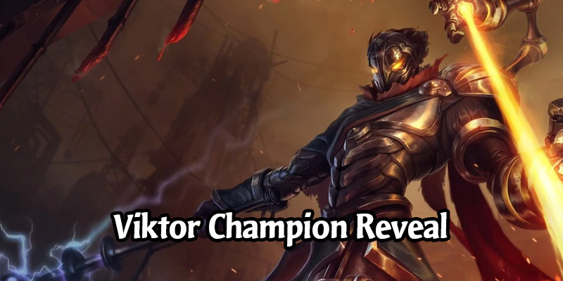 Viktor is the Newest Legends of Runeterra Champion Coming in Cosmic Creation