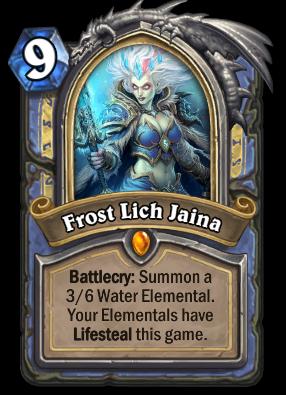 Frost Lich Jaina Card Image
