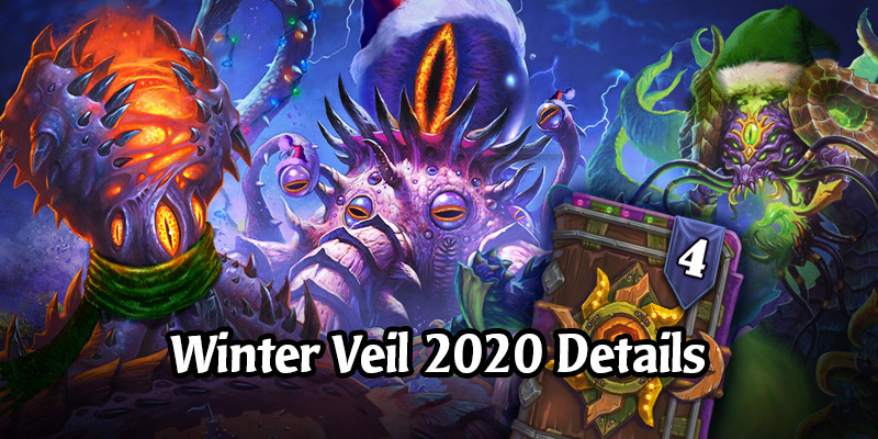 Blizzard Announces Details on Hearthstone's 2020 Winter Veil Event - Legendary Quests, Card Back Returning