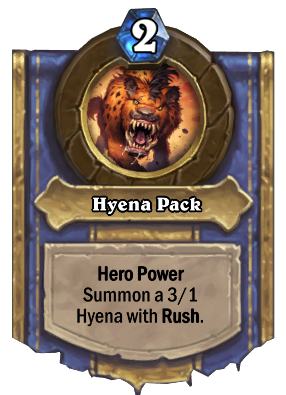 Hyena Pack Card Image