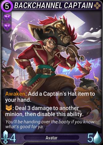 Backchannel Captain Card Image