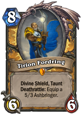 Tirion Fordring Card Image