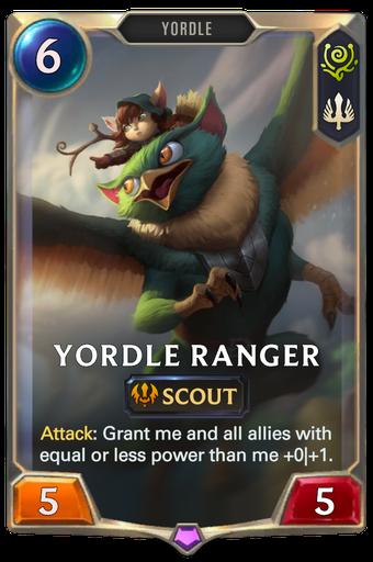 Yordle Ranger Card Image
