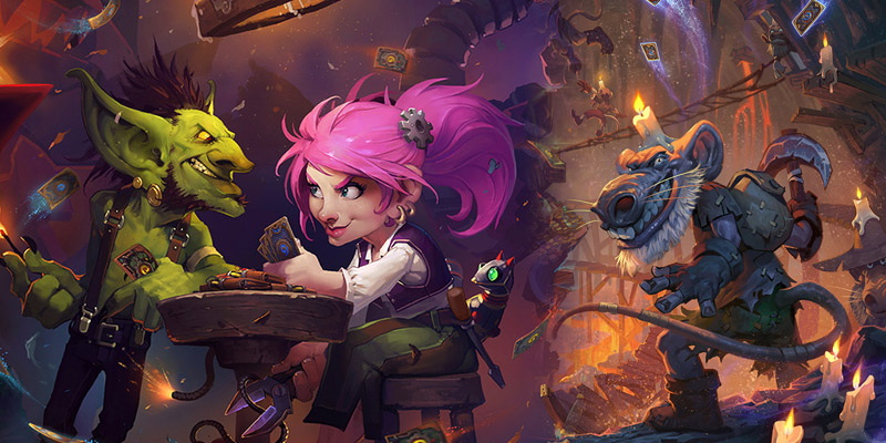 Goblins vs Gnomes and Kobolds & Catacombs Joins Hearthstone's Arena Rotation This Week