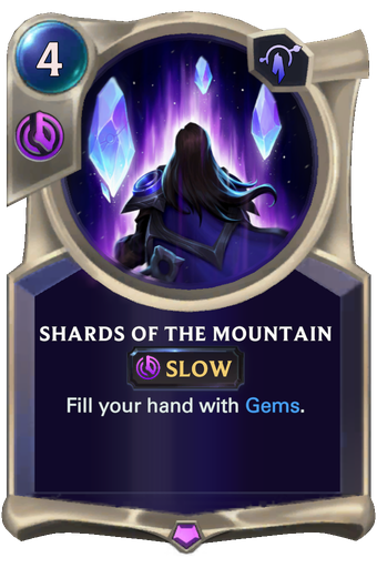 Shards of the Mountain Card Image
