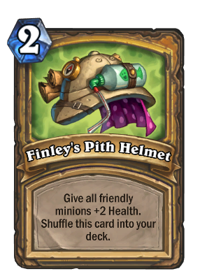 Finley's Pith Helmet Card Image