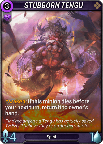 Stubborn Tengu Card Image
