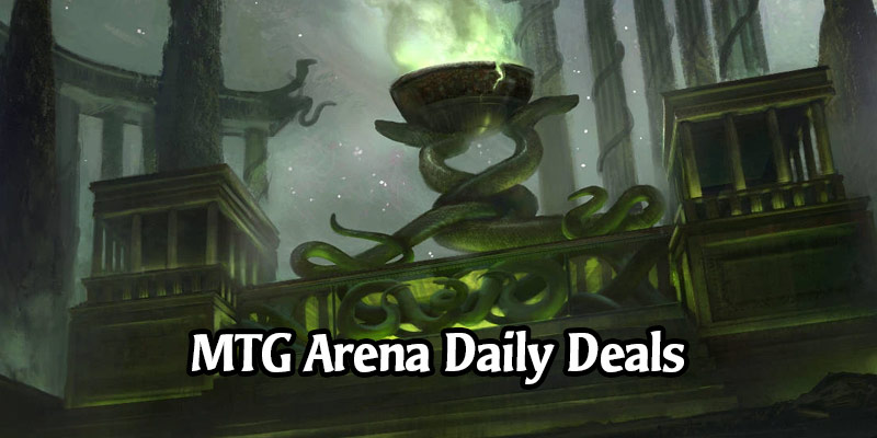 Daily Store Deals in MTG Arena for February 24, 2020 - Temple of Malady, Rakdos Exquisite Sleeve & More