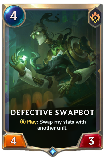 Defective Swapbot Card Image