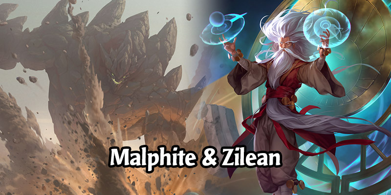 An Initial Look at Zilean and Malphite, Two New Champions Coming to Runeterra This Week