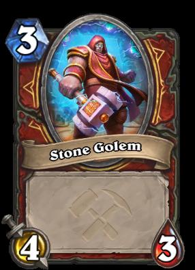 Stone Golem Card Image