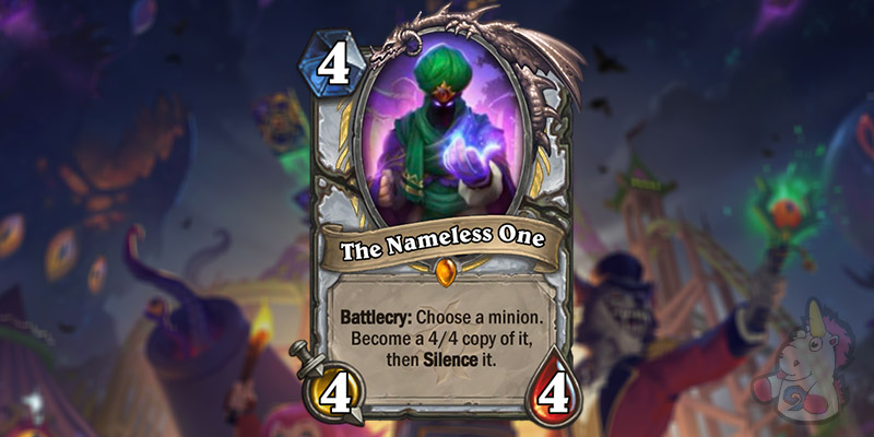 The Nameless One is a New Priest Card Revealed for Hearthstone's Darkmoon Faire Expansion