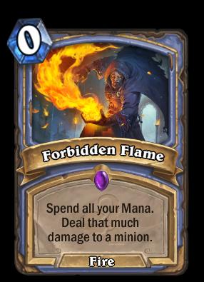 Forbidden Flame Card Image
