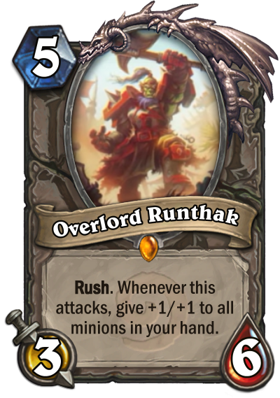 Overlord Runthak Card Image