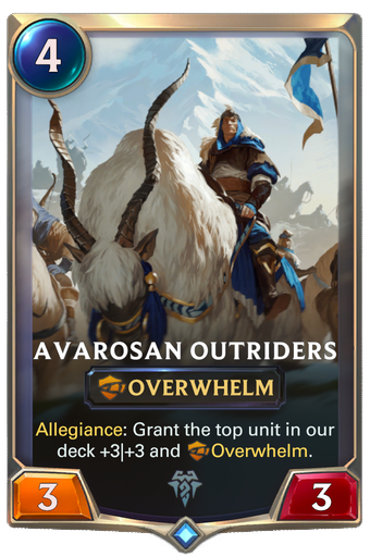 Avarosan Outriders Card Image