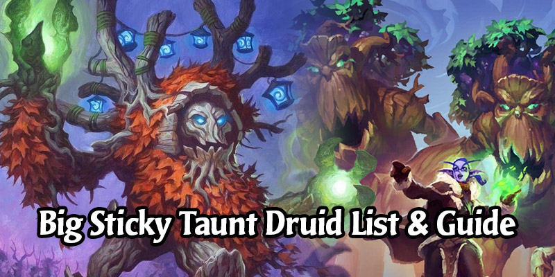 Big Sticky Taunt Druid Deck List and Guide - Memes and Dreams #7